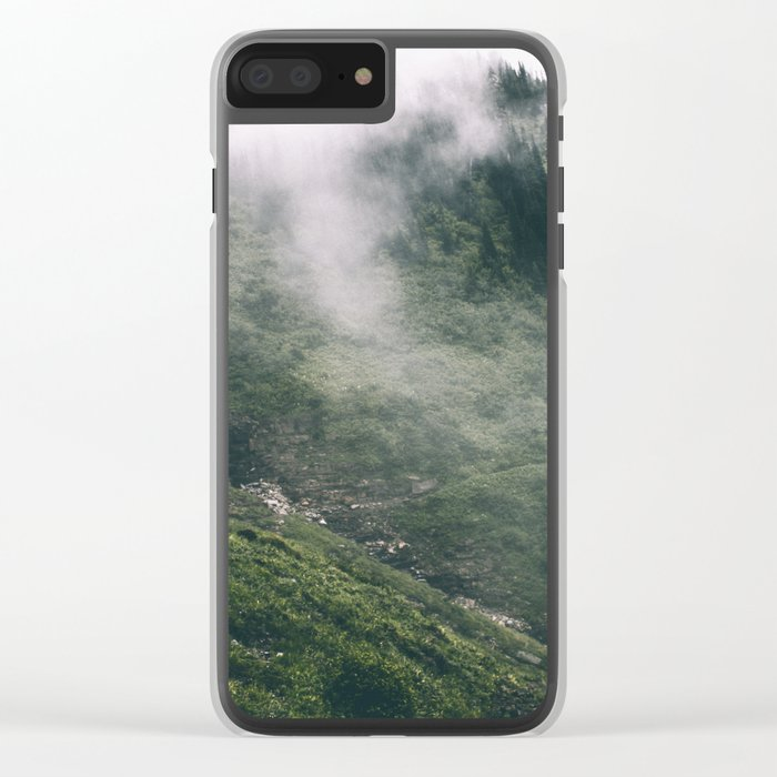 Happy Trails VIII Clear iPhone Case