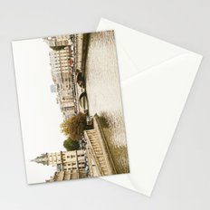 Le Seine River in Paris. Stationery Cards