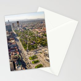 Megapolis Mexico Street Houses Cities megalopolis Building Stationery Cards