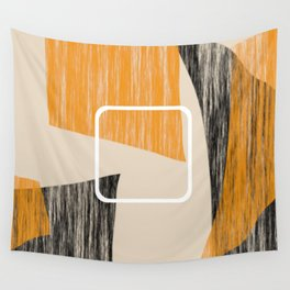 Abstract textured artwork II Wall Tapestry