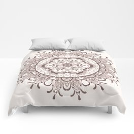 Mandala chocolate Comforters
