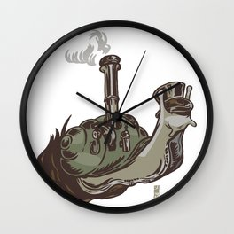 Industrial Age Speed Wall Clock