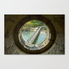 From the flooded church Canvas Print