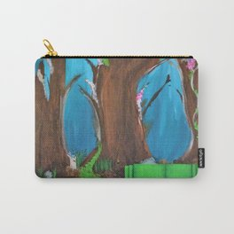 Comfy Couch. Abstract. Original Painting. Forest. Fantasy Forest. Fantasy. Jodilynpaintings. Carry-All Pouch