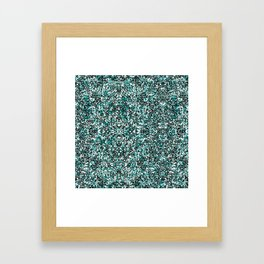 Blue Rice, Rice Baby Framed Art Print