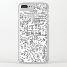 Budapest X Clear iPhone Case