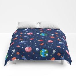 space adventures Comforters