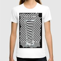 striped T-shirts featuring Striped Water by Steve Purnell