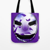 shadow Tote Bags featuring Shadow  by FWAETI