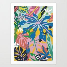 verde tropico Art Print
