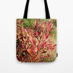 Plants on the powerlines Tote Bag