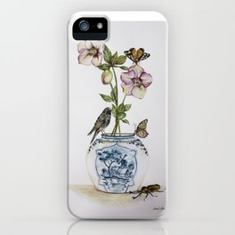 Hellebores iPhone Case
