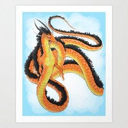 Asian Lung Art Print