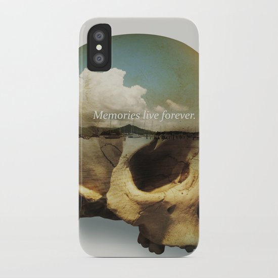 Memories live forever iPhone Case