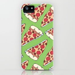 Meaty Pizza Party iPhone Case