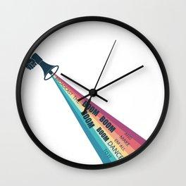 Broadcast the BOOM BOOM BOOM Wall Clock
