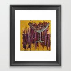 :: Afternoon Wine :: Framed Art Print
