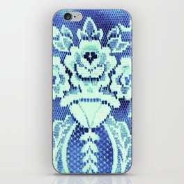 Somethings Laced Blue.  iPhone Skin