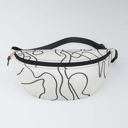 Three Dancers by Pablo Picasso Fanny Pack