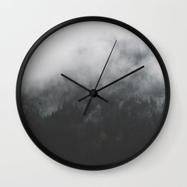 Spectral Forest II - Landscape Photography Wall Clock