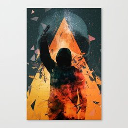 No way out Sci-Fi Surreal Art Canvas Print