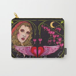 Bleed to Love her Wild Heart Carry-All Pouch