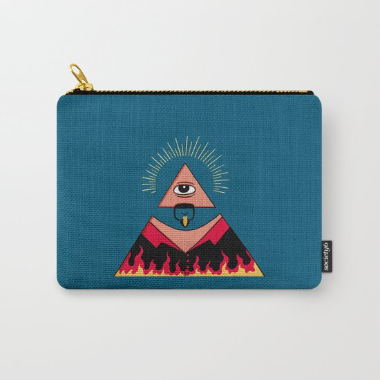 The All Seeing Eye Fieri  Carry-All Pouch