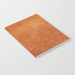 Farmhouse Style Original Camel Leather Oriental Design. Notebook