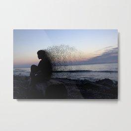 """Dissolving Into Thin Air"" By Eliot Zaeder Metal Print"