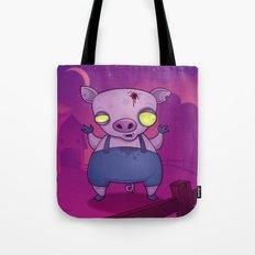 Zombie Pig Tote Bag