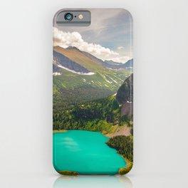 Grinnell Lake Glacier National Park Montana Mountain Landscape iPhone Case