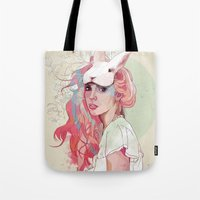 party Tote Bags featuring Sweet Party by Ariana Perez