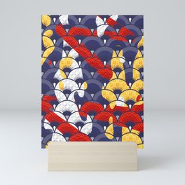 Koi Waves Mini Art Print