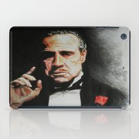 the godfather iPad Cases featuring The Godfather by Tridib Das