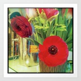 Cucina Blooms Art Print