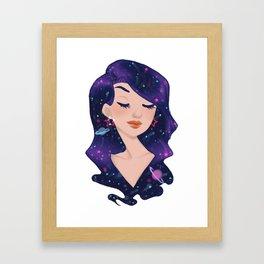 Star grrl Framed Art Print