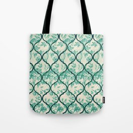 Vintage Garden Gate Ornament Tote Bag