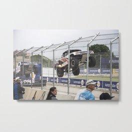 Super Truck Flame Jump (Belle Isle Grand Prix 2016) Metal Print