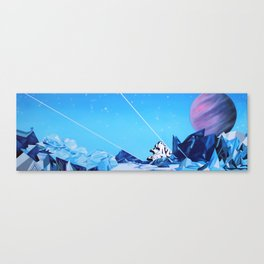 Crash Landing Canvas Print