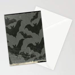 ANTIQUE  SHABBY CHIC  BATS ART DESIGN Stationery Cards
