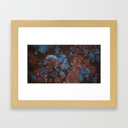 Memento Mori Last Breath Framed Art Print