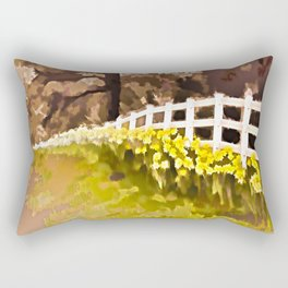 Daffodils Rectangular Pillow