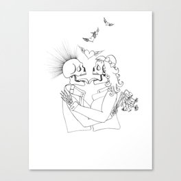 You Really Got a Hold On Me Canvas Print