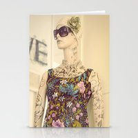 vogue Stationery Cards featuring Vogue by Carol Knudsen Photographic Artist