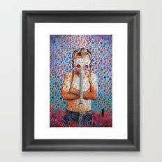 Niño después del Tsunami Framed Art Print