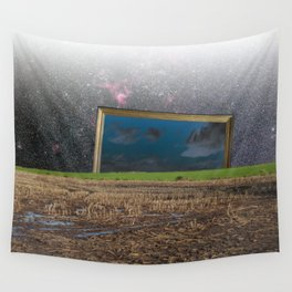 atmosphere · another blue sky Wall Tapestry