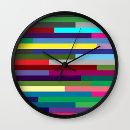 Lignes 17 Wall Clock