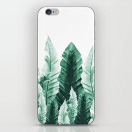 Underwater Leaves Vibes #2 #decor #art #society6 iPhone Skin