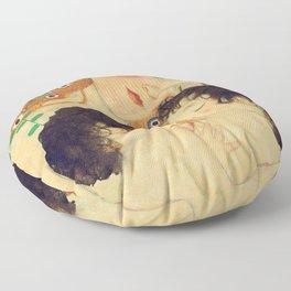 Mi versión de Klimt Floor Pillow