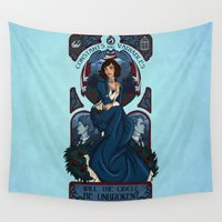 bioshock Wall Tapestries featuring Infinite Nouveau by Miss-Lys